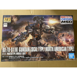HG (The Origin) Gundam Local Type (North American Front) (017) *BONEYARD*