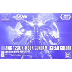 HG UC AMS-123X-X Moon Gundam (Clear Color)