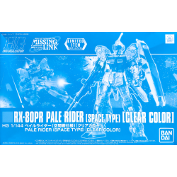 HG UC RX-80PR Pale Rider (Space Type) (Clear Color)