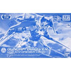 HG BD Gundam 00 Diver (Dive Into Dimension Clear)
