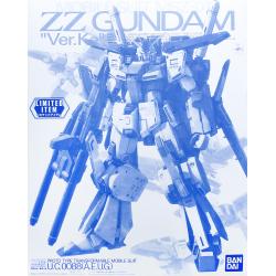 MG MSZ-010 ZZ Gundam Ver. Ka (Clear Color)