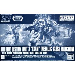 HG UC Blue Destiny Unit 3 EXAM (Metallic Gloss Injection)