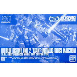 HG UC Blue Destiny Unit 2 EXAM (Metallic Gloss Injection)
