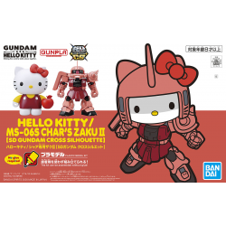 SD BB EX-Stardard Hello Kitty / MS-06S Char's Zaku II